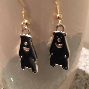 Jewelry - Adorable black bear 🐻 earrings